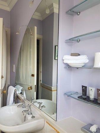 The Devonshire Arms Hotel & Spa: Cartoon Bathroom