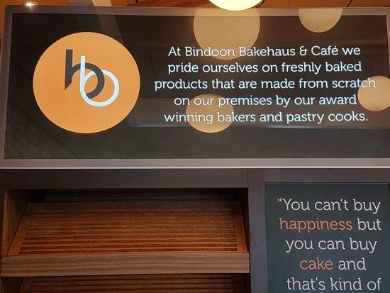 Bindoon, أستراليا: Signage