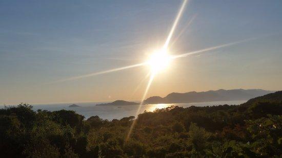 Ameglia, Włochy: Tramonto dal sentiero