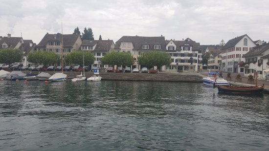 Maennedorf, سويسرا: vista molo