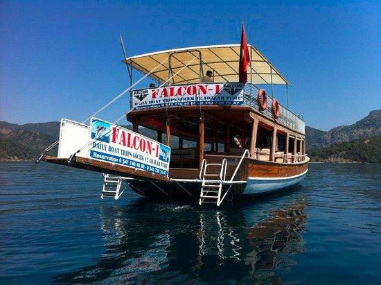 Gocek, Turkije: Falcon1