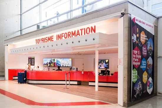 Roissy-en-France, France: Point Information Tourisme - CDG - Terminal 2F, Porte 11