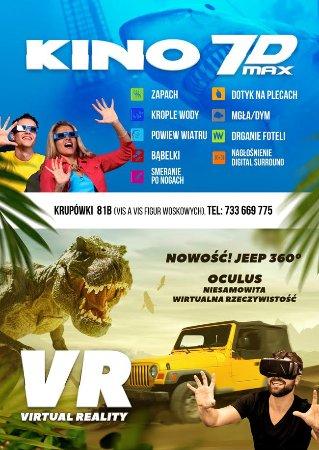 Kino 7D Max & VR Zakopane