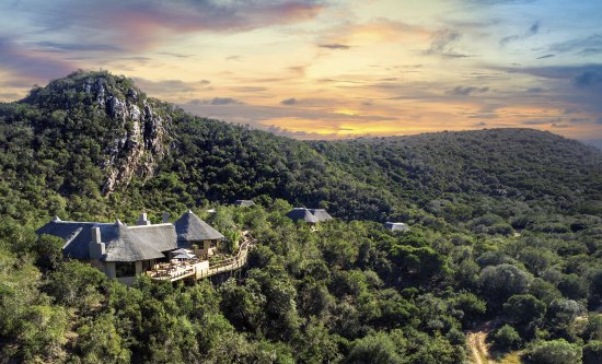 Inzolo Exclusive Game Lodge: Our lodge is nestled in a secluded valley, offering encapsulating, unspoilt views of nature.