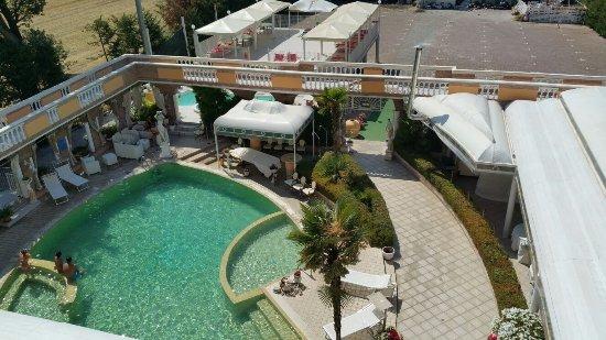 Grand Hotel Osman: vista camera