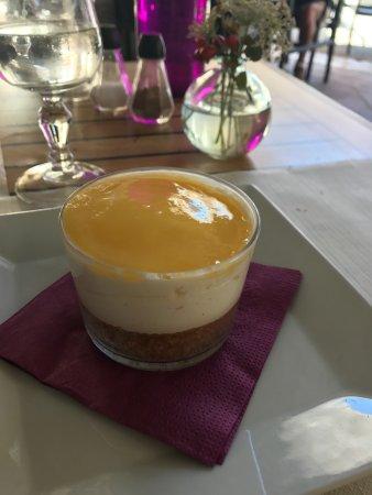 La Table des 3 Chevaliers: Très bon dessert au citron