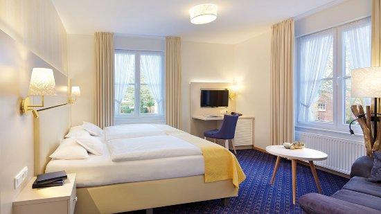 Hotel Inselfriede: Standard Doppelzimmer Nr. 5im Haupthaus