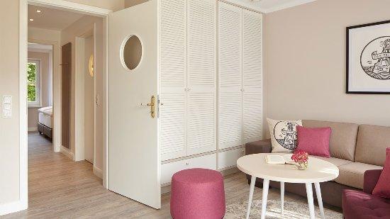 """Spiekeroog, Alemania: Superior Suite mit Terrasse im Haus """"Achtern Hotel"""""""