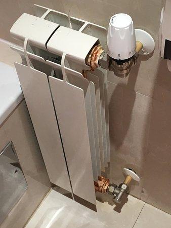Hotel Exe Vienna: óxido en el baño
