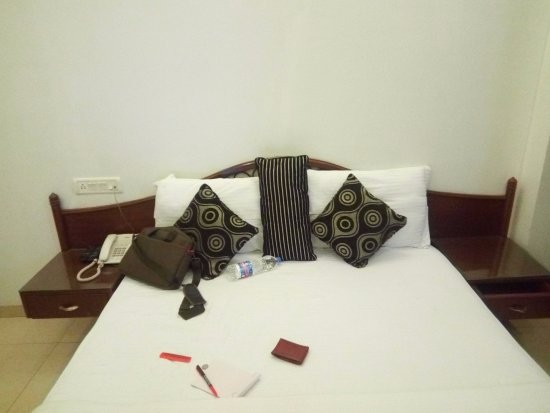 The Shipra International: Spacious bed with clean linen