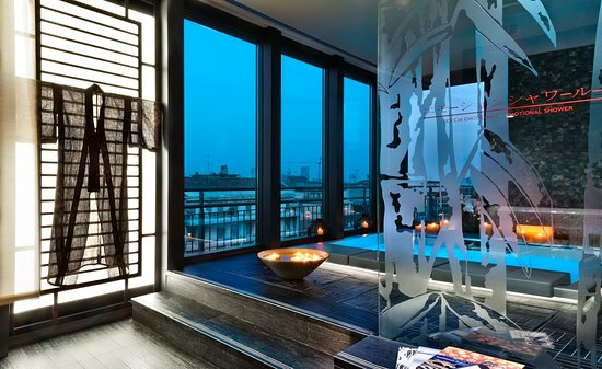 Enterprise Hotel: Le Terme di Kyoto_panoramic spa and wellness centre