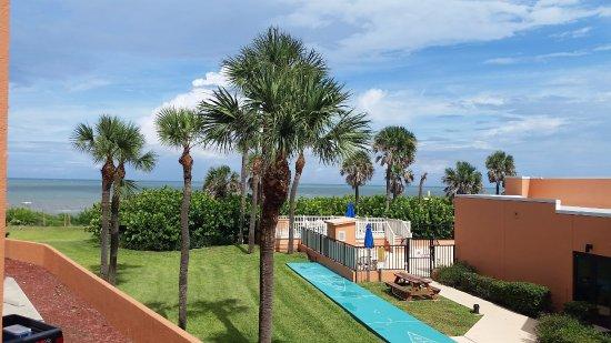 Oceanique Resort: View from First Floor Room