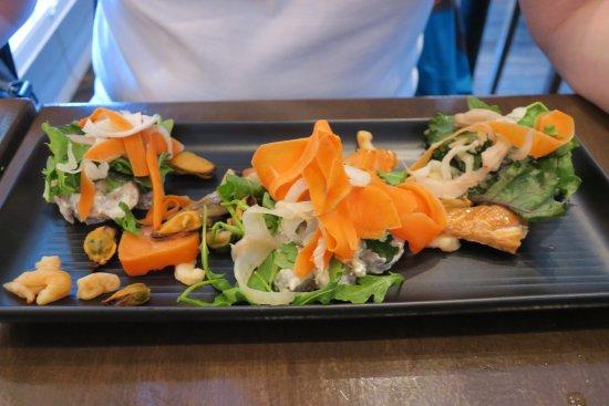 Cafe Boheme: Fischvarianten