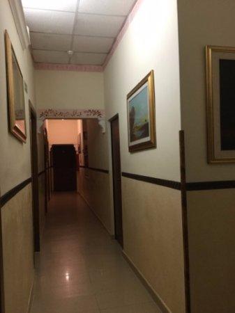 Hotel Cambridge: Corridor to room