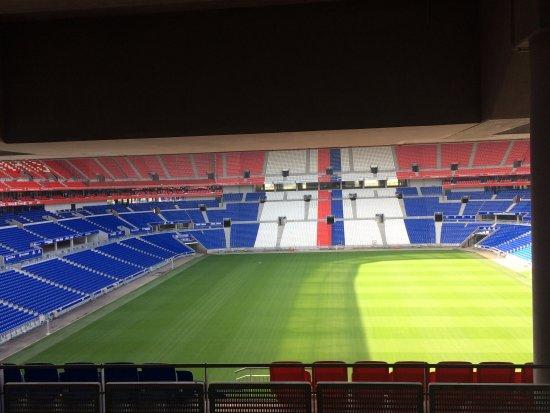 Visite Du Groupama Stadium Photo3