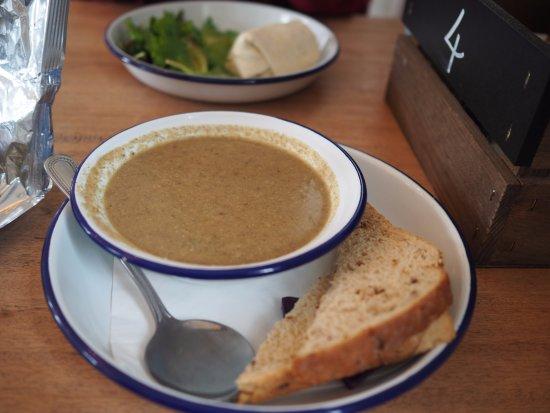 Island Cafe : Mushroom Soup