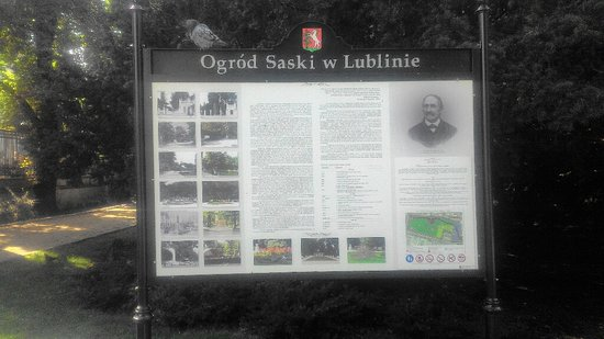 Saxon Garden in Lublin Foto