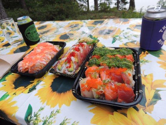 Shinbashi: Miami, Florida Keys, Rose and Maine rolls