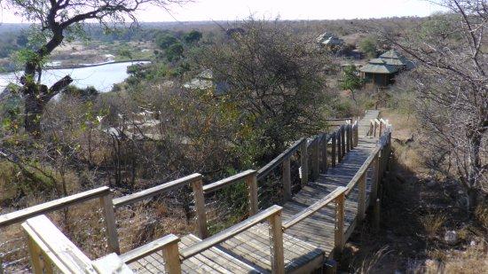 Timbavati Private Nature Reserve, Sør-Afrika: Blick auf die Anlage