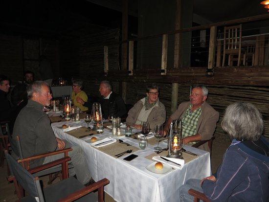 Timbavati Private Nature Reserve, Sør-Afrika: Abendessen