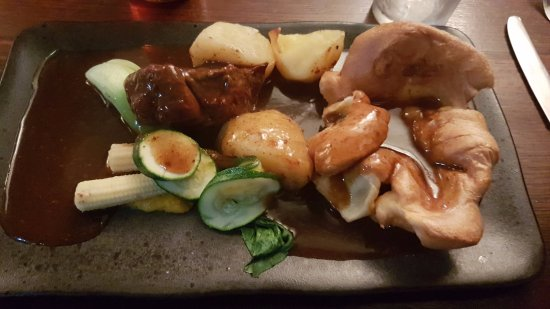 The Hare and Hounds Restaurant: Daube of beef!