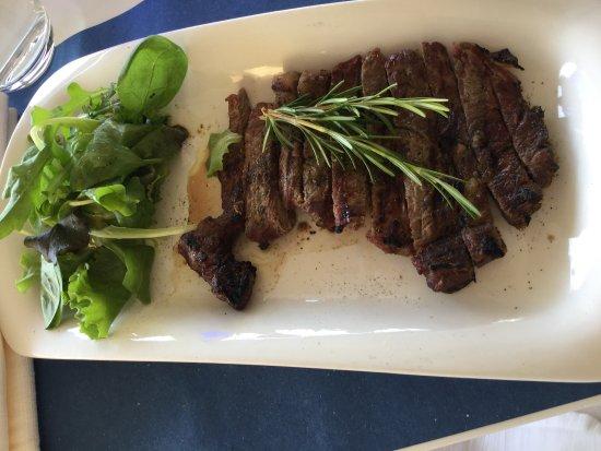 Antica Calcinaia: Steak en lanières