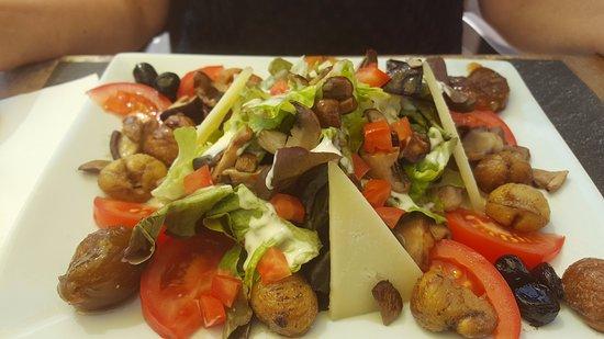 Evisa, Γαλλία: Salade Cristinacce