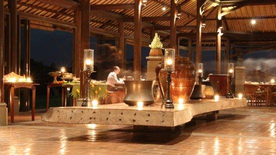 The Chedi Club Tanah Gajah, Ubud, Bali – a GHM hotel: Le restaurant gastronomique