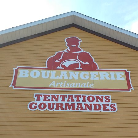 Boulangerie Tentation gourmande: outdoor sign