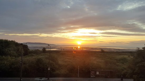 sunrise in dublin bay as seen from front room picture of tara