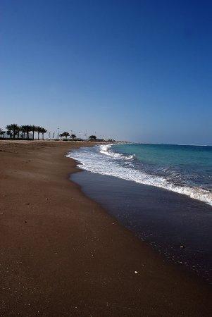 Al Mussanah, Oman: Plaża hotelowa