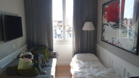 Palazzo Castri 1874: lit en supplément dans junior suite