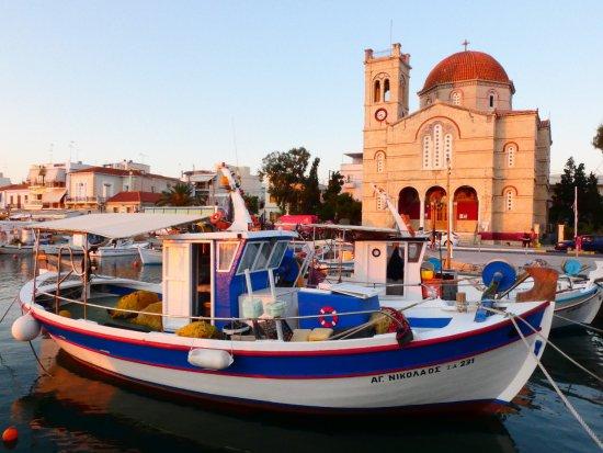 Blue Water Sailing Greece: Aegina harbor