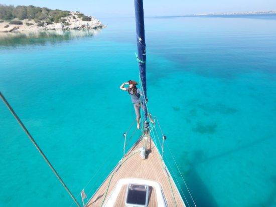Blue Water Sailing Greece: Captain Radu