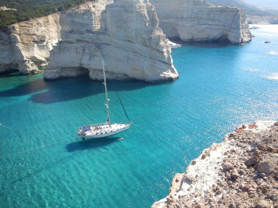 Blue Water Sailing Greece: A little piece of paradise