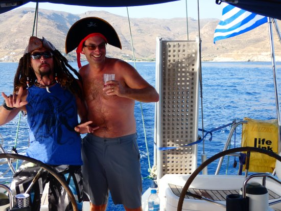 Blue Water Sailing Greece: Watch out..pirates of the Aegean :) .