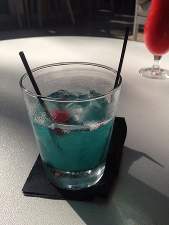 The Hotel of South Beach: Blue Miami cocktail
