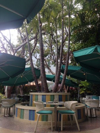 The Hotel of South Beach: Outside area