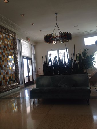 The Hotel of South Beach: Hotel reception