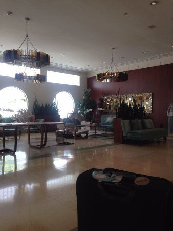 The Hotel of South Beach: reception