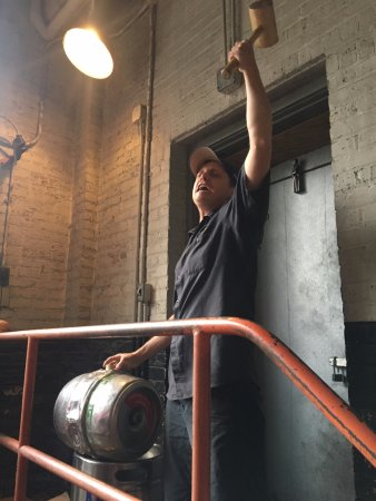 Lakefront Brewery : Ryan - a lovely tour guide