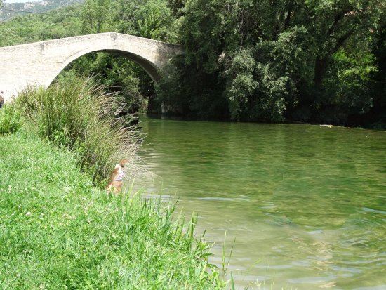 Eulz, Espagne: Playa fluvial cercana