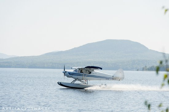 The Birches Resort: The Birches offer Sea Plane Rides!
