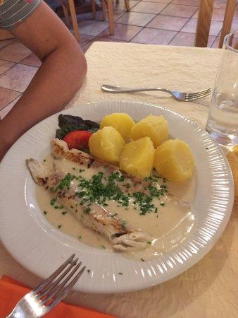 Unken, Avusturya: luccio e patate