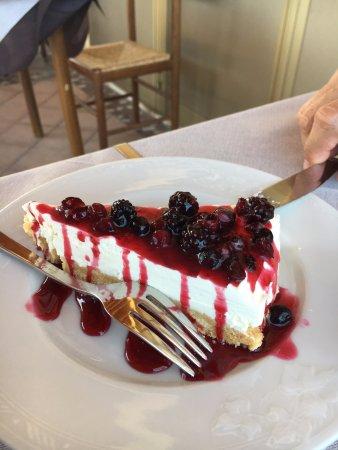 Ristorante Ferretti Pineto: cheesecake