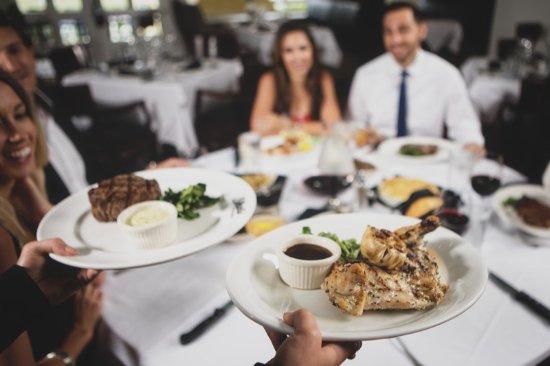 Shula's Steak House: Dinner is served
