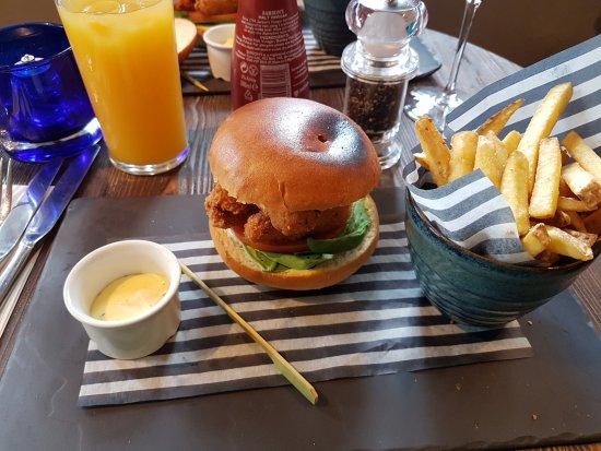 Battlesbridge, UK: Def not a burger despite the name