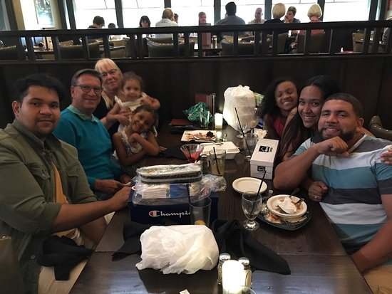 Birthday Celebration with Delicious food at Table 9 8/27/17