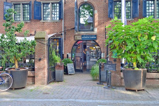 Woerden, Ολλανδία: Hoteleingang