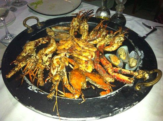Captain Cook Restaurant: Parrillada grill